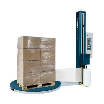 vertikálny baliaci stroj s točňou na balenie do strečovej fólie