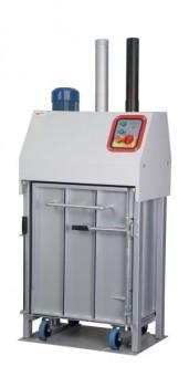 elektromechanický ahydraulický paketovací lis nafóliu apapier