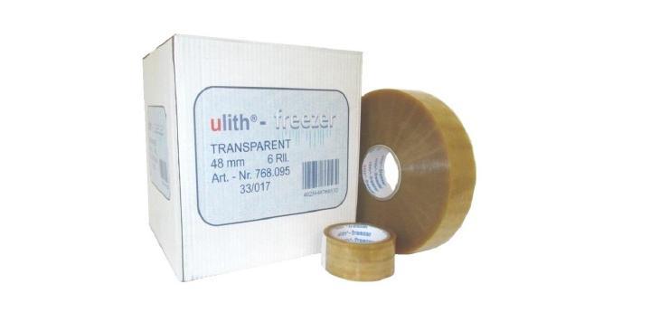 strojná lepiaca páska domrazu ku strečovým fóliám