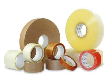 lepiace pásky pre ručné a strojné balenie