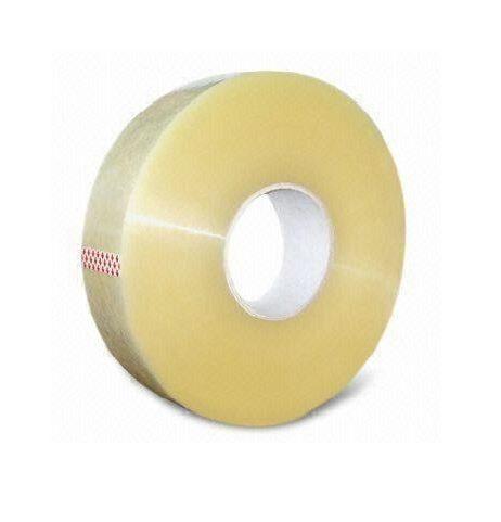 strojná lepiaca páska transparent ku strečovým fóliám