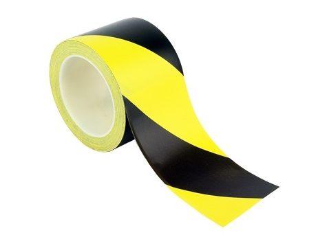vystražná fólia žlto čierna