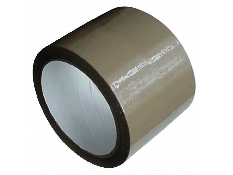 lepiaca páska 75mm hnedá